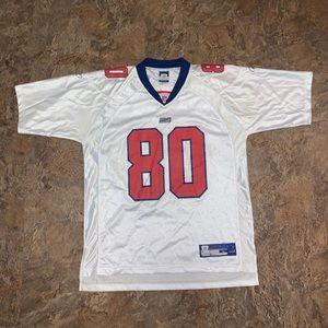 Vtg Jeremy Shockey Giants rookie jersey Reebok
